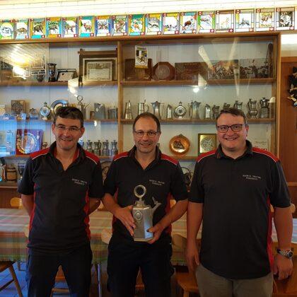 Campionato Sociale A: Reto Costa 2°, Giorgio Murbach 1°, Lorenzo Passini 3°
